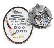 ALKTAPLUS068R - A Plus Series 55A Race alternator kit with an 100mm Pulley