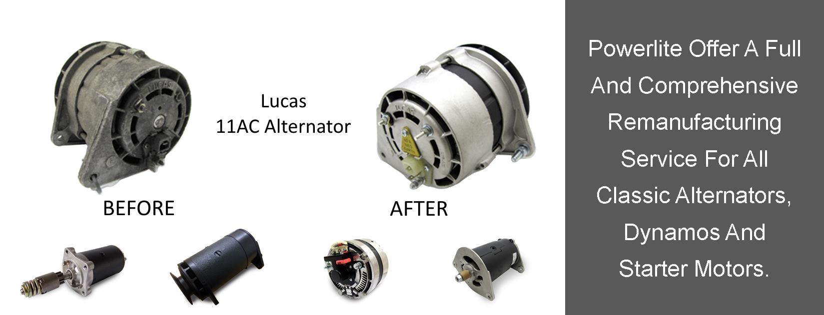 Powerlite - Suppliers of Starter Motors and Alternators
